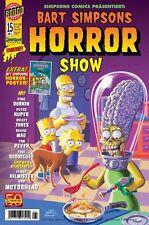 BART SIMPSONS HORROR SHOW # 15 + POSTER - PANINI COMICS 20011 - TOP