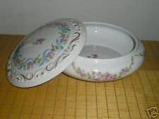 """Limoges Box """"Hand Painted"""" Pink w/Floral w/Gold!"""