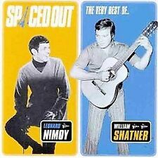 Spaced Out:  Leonard Nimoy and William Shatner by Leonard Nimoy CD Star Trek