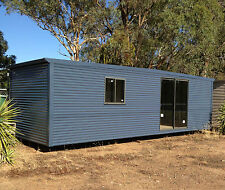 CABIN,GRANNY FLAT,SITE SHED,DONGA,TEEN SPARE ROOM,RELOCATABLE HOME, 8X3M