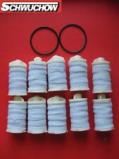 Oil Filter Heating Felt Sieve 10 Pcs 2O-rings tank insert