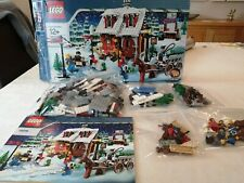 Lego 10216 creator winter Village bakery used but 100% compete UK bidders only