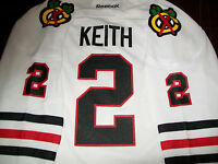 New w/tags Chicago Blackhawks jersey Duncan Keith youth BOYS Large XL GIRLm $70