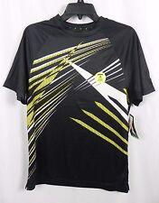 New Men's Prince Tennis Uv Protection Moisture Wick Black Shirt Size S (G1-7)