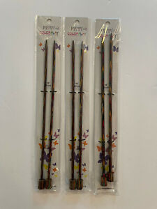 Knitter's Pride COLORPLAY Laminated Birch Needles - You Pick the Size!!!