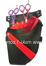 Salon  New Hairdressing Scissor Tools Pouch / Holster Black