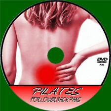 PILATES FOR BACK PAIN RELIEF VIDEO DVD RELAX RELIEVE STRESS AID MUSCLE & POSTURE