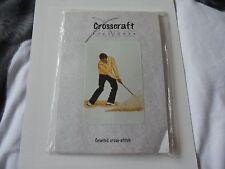 Cross Stitch Kit  Golfer 'Stuck in Bunker'  NEW by  Cross craft design
