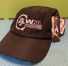 Waste Management Phoenix Open Lightweight Black Tech Adjustable Hat New With PGA
