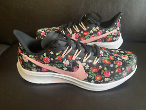 Nike Air Zoom Pegasus 36 Floral Pink Rose AT4096-001 Kids Size 7Y - 8.5 Women's