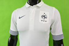 NIKE FFF France 2011-2012 Away Football Shirt PLAYER ISSUE SIZE S (adults)