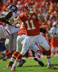 Alex Smith Autographed/Signed Kansas City Chiefs 16x20 Photo BAS 29233