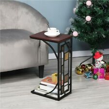 Small End Table Living Room/Office Sofa Side Coffee/Tea Laptop Storage Tables