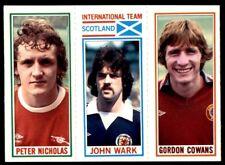 Topps Football 1981 Blue 10. Nicholas / 183. Wark / 16. Cowans