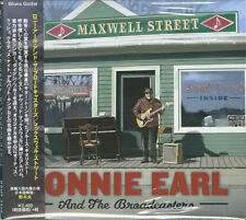 RONNIE EARL AND THE BROADCASTERS-MAXWELL STREET-IMPORT CD w/JAPAN OBI F30