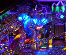 Medieval Madness Pinball Machine Lighted Dragon mod