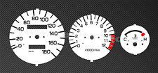 Yamaha TDR125 Tachoscheiben Tacho TDR 125 Gauge dial gauge disk speedo