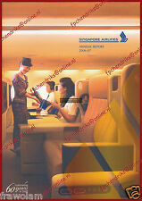 SINGAPORE AIRLINES - ANNUAL REPORT 2006-2007