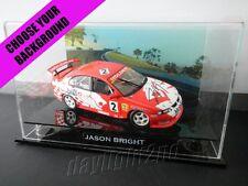 ✺Signed✺ JASON BRIGHT 2001 VX Holden Commodore PROOF COA V8 Supercars 1:18 Model
