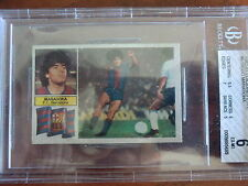 SPORT CARD SOCCER SPANISH MARADONA  1982  ROOKIE BECKETT