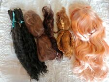 Lot of Blythe Doll Scalp and Mohair for Rerooting