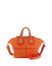 NWT GIVENCHY Micro Sugar Nightingale Satchel Crossbody Shoulder Bag $1695 Orange