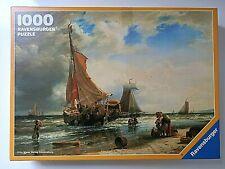 Puzzle Ravensburger 1000 pièces Barques de pêcheurs (1818-1879) 69.8cm X 49.8cm
