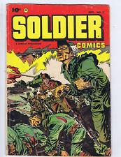 Soldier Comics #11 Fawcett Pub 1953