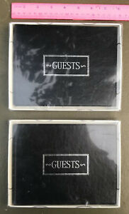 Guest books X2 in Original Boxes - Wedding-Art Show-Business Convention Black