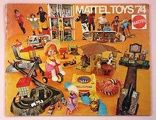 1974 MATTEL TOYS CATALOG - BARBIE, HOT WHEELS, BIG JIM. SUNSHINE FAMILY,  ETC