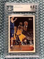 1996-97 Topps #138 Kobe Bryant Rookie Card Los Angeles Lakers Beckett BGS 8.5