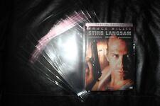 Schutzhülle für DVD Steelbook * 10 Stück * transparent * Schutzhüllen *
