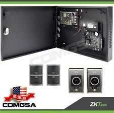 Access control 2 Door Zkteco, C3 200 Door entry System kit ZK, Exit montion.USA