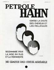 """""""PETROLE HAHN"""" Annonce originale entoilée L'ILLUSTRATION 3/12/1932 (CASSANDRE)"""