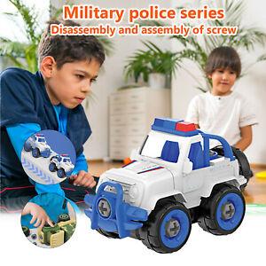 Coogam Take Apart Puzzle Disassembly Tank Rocket Car Toys Boys Detachable Car