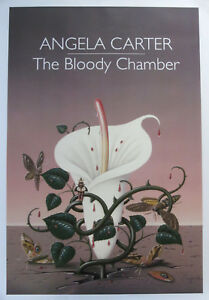 THE BLOODY CHAMBER  New Poster of stylish ANGELA CARTER  Book Cover (A1 Size)