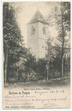 CPA PK AK ENV. TONGRES EGLISE SAINT-GILLES A MULKEN 1903 NELS 42/12
