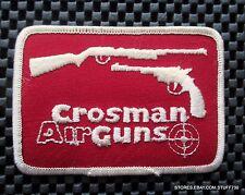 """GROSMAN AIR GUNS EMBROIDERED PATCH PISTOL RIFLE SPORT UNIFORM 3 7/8"""" x 2 7/8"""""""