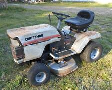 old sears riding lawn mowers. vintage craftsman ~ all metal riding mower 11 hp salvage central florida old sears lawn mowers e