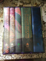 """NEW Sealed Harry Potter Hardcover """"First 5 Years"""" Limited Edition Boxed Book Set"""