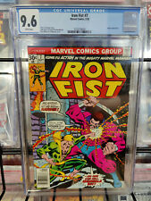 IRON FIST #7 (1975 1ST SERIES) - CGC GRADE 9.6 - ANGAR APPEARANCE!