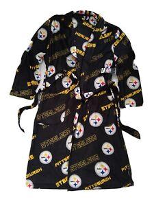 Pittsburgh Steelers Robe Unisex Polar Fleece One Size  new