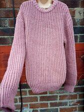 LOOM Urban Outfitters M 12 14 fisherman Jumper red marl Oversize unisex wool men