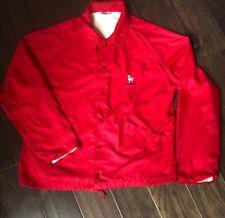 Vintage 70s Camelback Velva Sheen Full Button Jacket Size Large