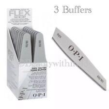 OPI Professional FLEX Silver Buffers  (3 Buffers) 100/180 - GENUINE & Sealed