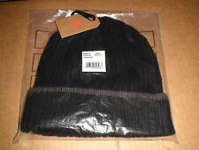 NWT MEN'S DOCKERS RIBBED CUFFED BEANIE Size NO SIZE BLACK