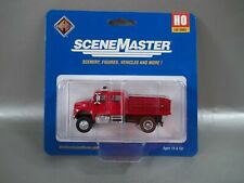 NIB WEALTHERS SCENE MASTERS INTERNATIONAL 4900 FIRE DEPARTMENT UTILITY TRUCK HO