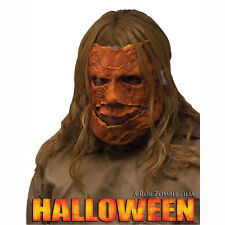 Michael Myers Halloween Asylum Escape Pumpkin Adult Costume Mask Fun World 93275