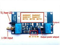 Radio Power Amplifier Board for RA30H4047M RA60H4047M Mitsubishi Intercom Ham