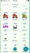 Shiny Groudon & Kyogre Trade Account L.11 - Pokemon Go